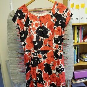 Talbots Floral Pattern Dress